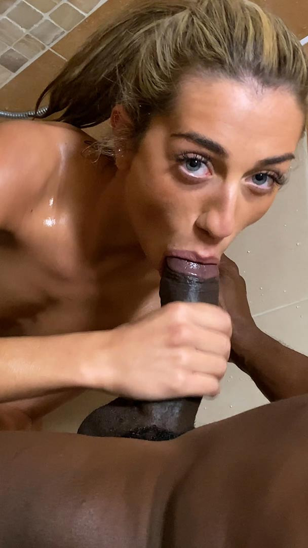MY ROOMATE IS GETTING A HUGE BLACK COCK